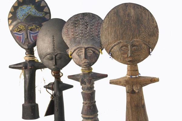 Ashanti Akua'ba dolls