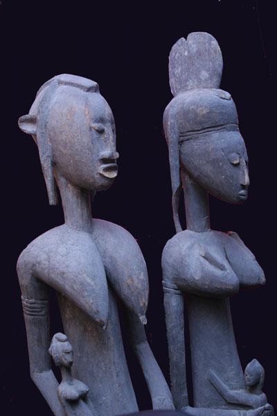 Bambara Maternity Statues