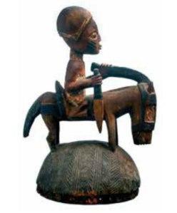 E2 Yoruba Head Crest, Nigeria