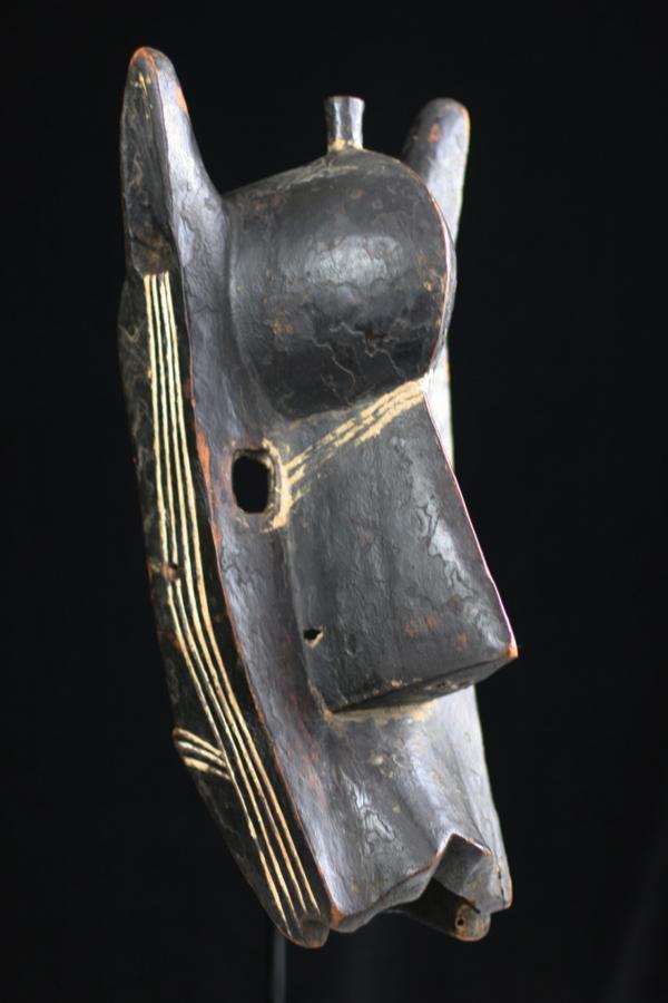 Bambara/Bamana Tribe (Mali) : 'Claiborne Suruku' (Hyena Mask)